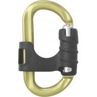 奧地利 AustriAlpin OVALO Ovalock 推開鉤環(兩段式) 黃色