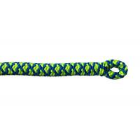 法國 cousin ATRAX 11.6mm 雙編織攀樹繩 35米 黃藍色(有繩眼)
