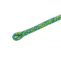 法國 cousin LIGNUM 12.5 mm雙編織攀樹繩 5米挽索 雲紋藍黃色 (裁切)