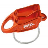 法國 Petzl REVERSO 確保器/制動器/豬鼻/下降器 D017AA02 紅橘色