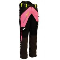 英國Arbortec Breatheflex Type A Class 1 鏈鋸褲 (黑粉色)