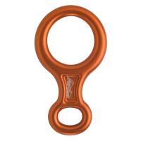 奧地利 AUSTRIALPIN 八字環 figure-8 8字環 橘色