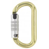 【奧地利 AUSTRIALPIN】OVALO 鋁合金二段自動上鎖鉤環 黃色