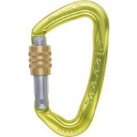 【奧地利 AUSTRIALPIN】 ELEVEN 鋁合金手動鎖鉤環 亮黃色