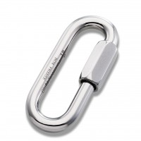 【奧地利 AUSTRIALPIN】Maillon Rapide 不鏽鋼橢圓形環扣 7mm