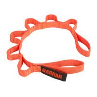 巴哈 BARHAR 鉤環器材整理掛帶(6孔) 橘色