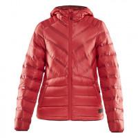 CRAFT輕量羽絨連帽外套(女)紅色(特價3600)