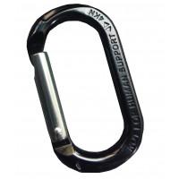 康迪亞 Concordia 4kn小鉤環 亮光黑