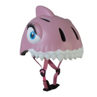 丹麥Crazy Safety 鯊魚安全帽(粉色)