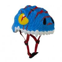 丹麥Crazy Safety恐龍安全帽(藍恐龍)