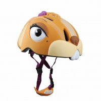 丹麥Crazy Safety 花栗鼠安全帽(黃色)