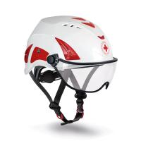 【義大利 KASK】HP CRI 紅十字安全頭盔含護目鏡(預購)