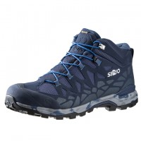 日本SIRIO-Gore Tex中筒登山健行鞋(PF156IN)丹寧藍