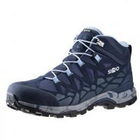 日本SIRIO-Gore Tex中筒登山健行鞋(PF156IN)水藍