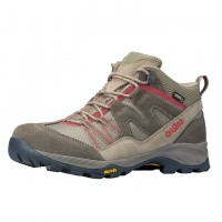 日本SIRIO-Gore Tex中筒登山健行鞋(PF156) 棕紅