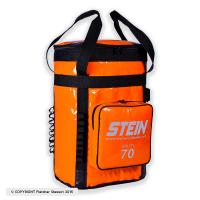 英國 STEIN 筒狀繩索器材袋 70公升 橘色(有雙背負系統)