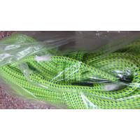 【奧地利 Teufelberger】 攀樹繩 Tachyon 11.5mm 綠藍色 雙編織繩  45米含繩眼