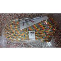 【奧地利 Teufelberger】 攀樹繩 Tachyon 11.5mm 彩色 雙編織繩 45米含繩眼