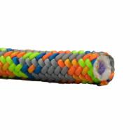 奧地利 Teufelberger Tachyon 彩色 11.5mm 雙編織雙繩心攀樹繩  lanyard 編繩眼用 (6米)