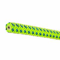 【奧地利 Teufelberger】 Tachyon 11.5mm 綠藍色 雙編織繩 攀樹專用 36米