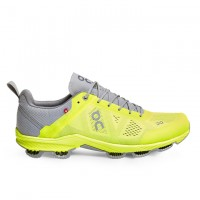ON瑞士跑鞋超跑雲(男) Cloudsurfer Neon/Grey螢光黃
