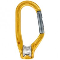 法國 Petzl ROLLCLIP 滑輪鎖扣/滑輪勾環 Pulley carabiner P74