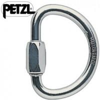 法國 Petzl DEMI ROND n10半圓環扣/有鎖鉤環/安全扣/鋁合金連接環 P18