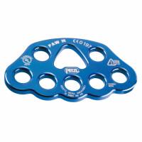 法國 Petzl P63 M PAW 分力板/多孔分力盤 藍色M