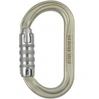 法國 Petzl O型鋼製自動鎖勾環/工程勾環 鋼鉤環 高拉力O型環 OXAN M72A TL