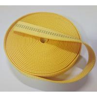 Concorida 扁帶 厚度2.2mm 黃色 6米 EN565